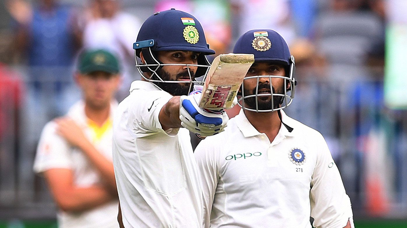 Strutting Kohli saves India in second Test
