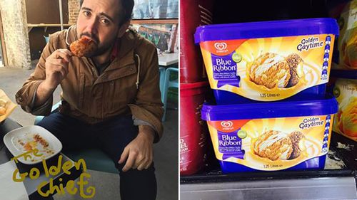 Golden Gaytime to be released in tub form after Sydney ad man's social media campaign