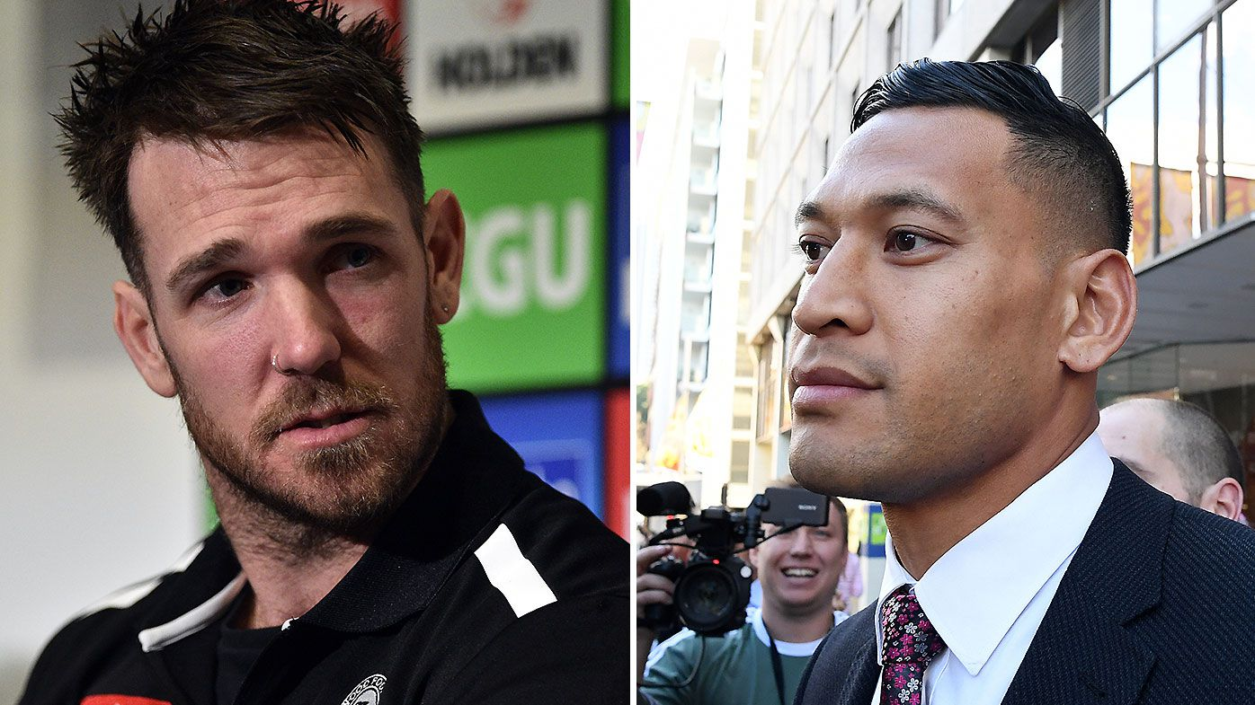 Collingwood legend Dane Swan mocks Israel Folau by starting GoFundMe for Vegas trip