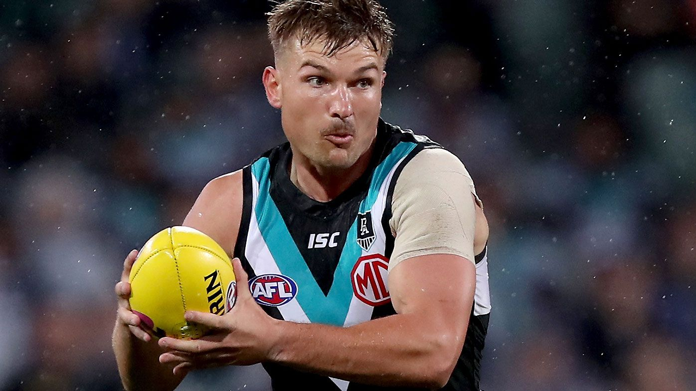 Ollie Wines signs four-year contract extension with Port Adelaide