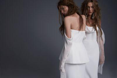 Filamena and Floriana dresses,Vera Wang 2017 Bridal Collection