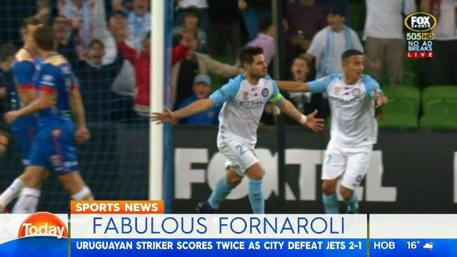 City star's brace downs Newcastle