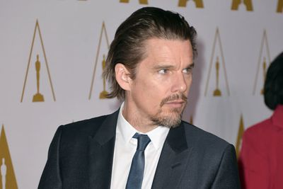 A slick-looking Ethan Hawke is also nominated for <i>Before Midnight</i>. <br/>
