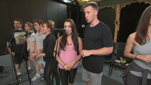 Director James Cutler is the man charged with task of pulling-together the mad-cap cast and crew. (9NEWS)