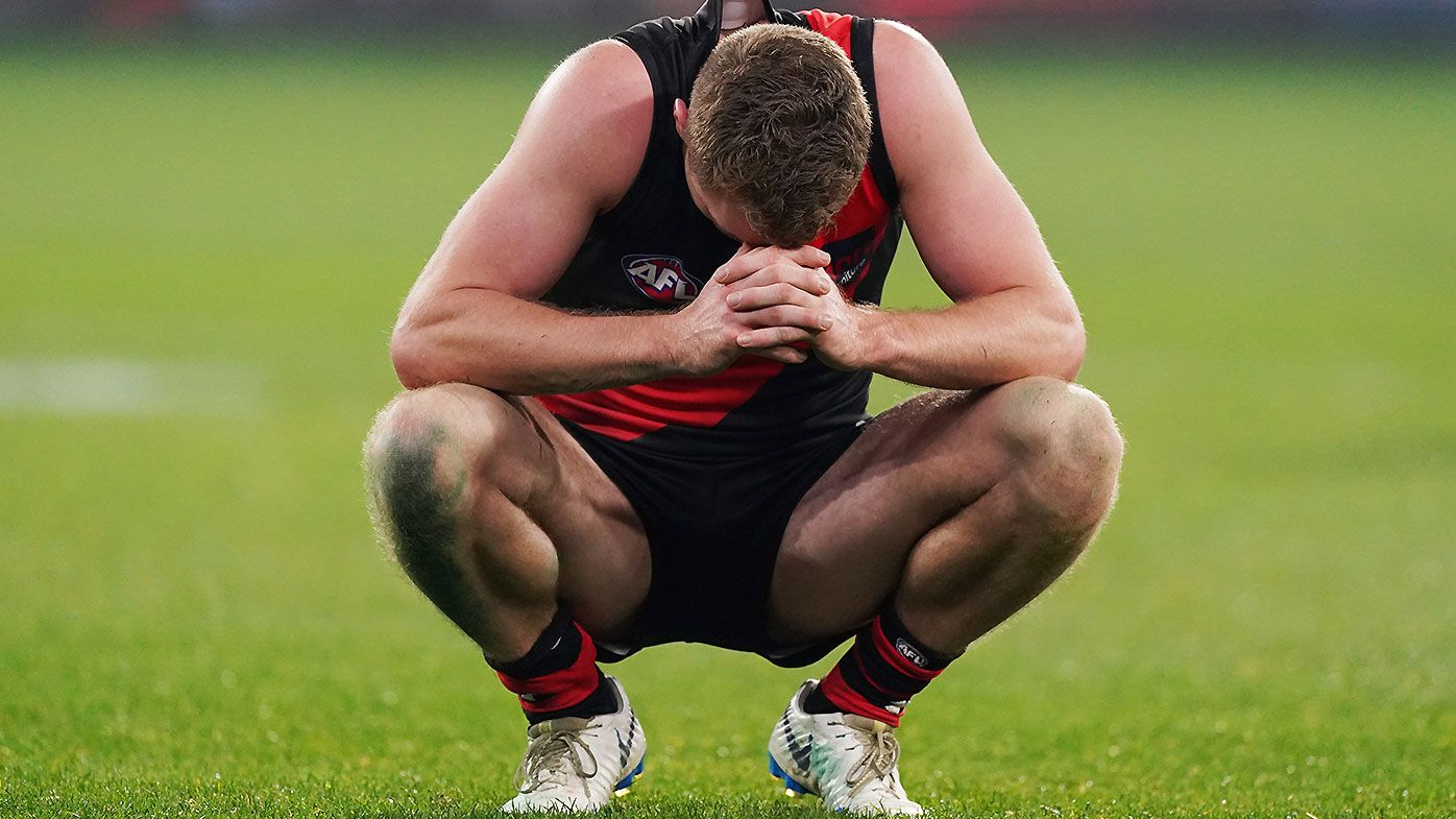 Essendon-Carlton thriller comes down to final minute of madness as Jacob Townsend misses game-winner