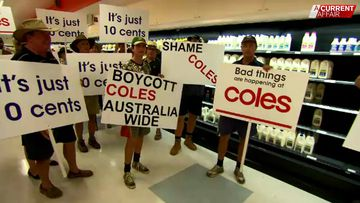 Hundreds of farmers await big payday after Coles dairy rip-off