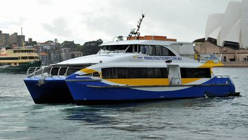 Workers on the NRMA My Fast Ferry and the Manly Fast Ferry will stop work for two hours between 8am and 10am on Wednesday.