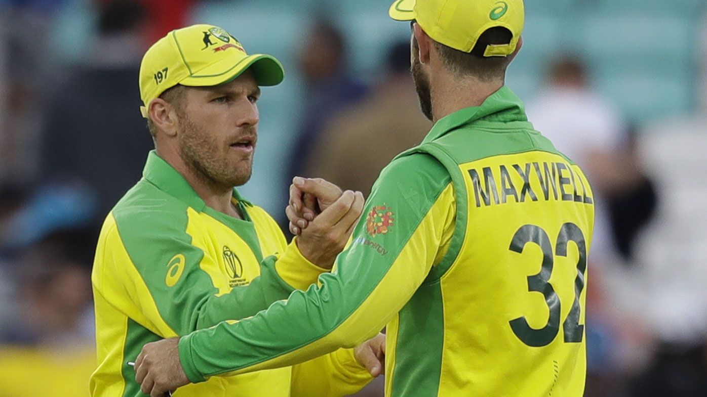 Aaron Finch rewarded for backing Glenn Maxwell's all-round skills at World Cup