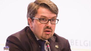 Federal Prosecutor Frederic Van Leeuw. (AFP)
