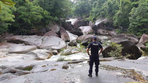 Babinda Boulders: Major search underway for 18-year-old who went missing at the Devil's Pool
