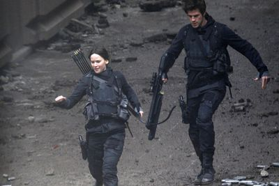 But we'll have to wait until <i>The Hunger Games: Mockingjay – Part 1</i> hits Australian cinemas on November 20, 2014, to see the cast in action.<br/><br/>Can't wait that long? Scroll through to watch a <i>Hunger Games</i> interview with Julianne Moore and get teased by the motion poster trailer.<br/><br/>(Image: Splash)
