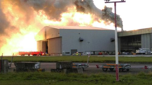 Flights suspended following fire at Dublin Airport