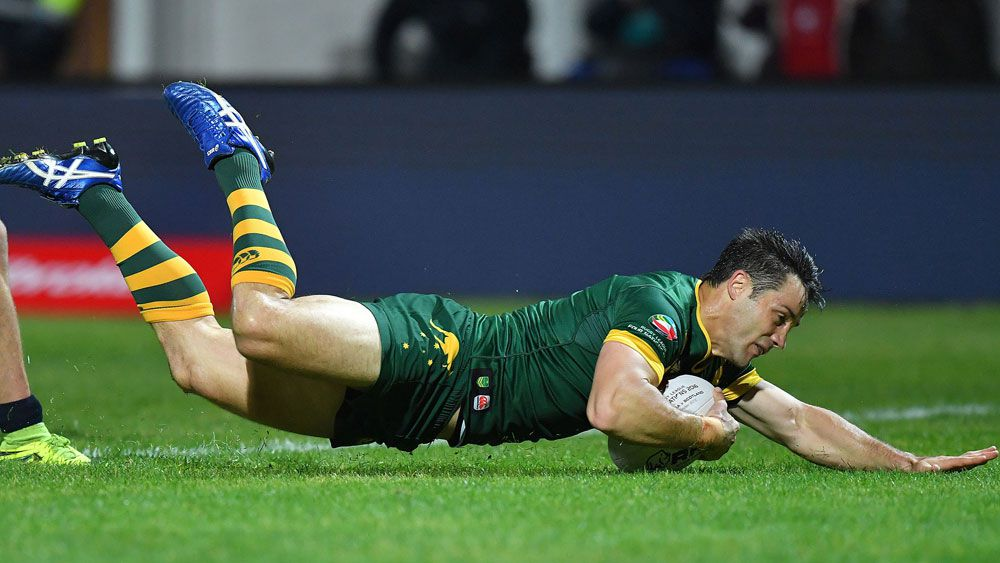 Meninga defends resting Cronk against NZ