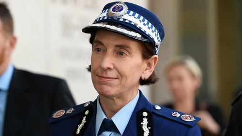 """Ms Burn said she felt """"privileged"""" to have served as head of counter-terrorism."""