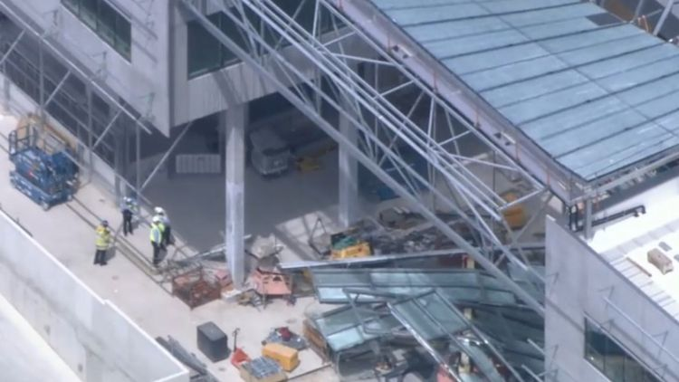 One dead as part of building collapses at Western Australia university