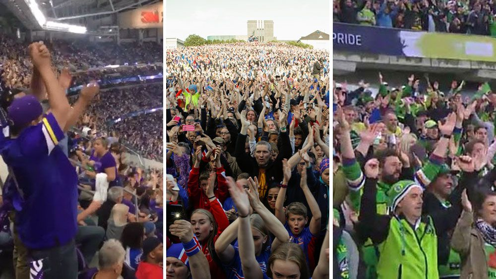 NFL: Vikings fans fail to live up to world famous 'Viking Clap'