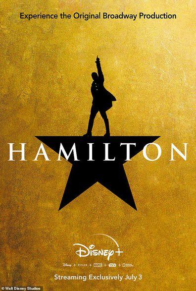 Lin-Manuel Miranda, Hamilton, play, Broadway, Disney Plus, poster