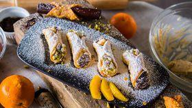 Family Food Fight The Pluchinotta's Homemade Ricotta Cannoli