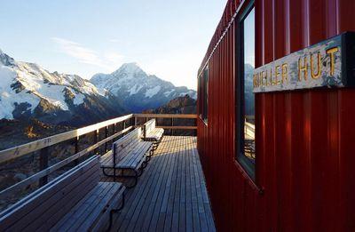 <strong>Meuller Hut, Mount Cook National Park</strong><br />