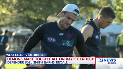 Melbourne spring selection heartbreak dropping rookie mainstay Bayley Fritsch