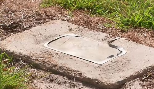 Police said there are almost 30 plaques missing in total. (9NEWS)