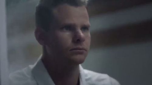 Steve Smith appears in a new Vodafone ad.