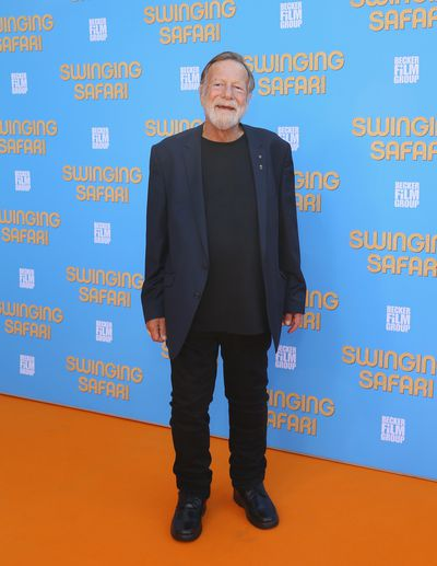 Jack Thompson at the <em>Swinging Safari</em> premiere in Sydney, Australia.&nbsp;
