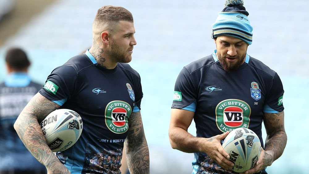 Blake Ferguson and I have been made NSW scapegoats says Josh Dugan
