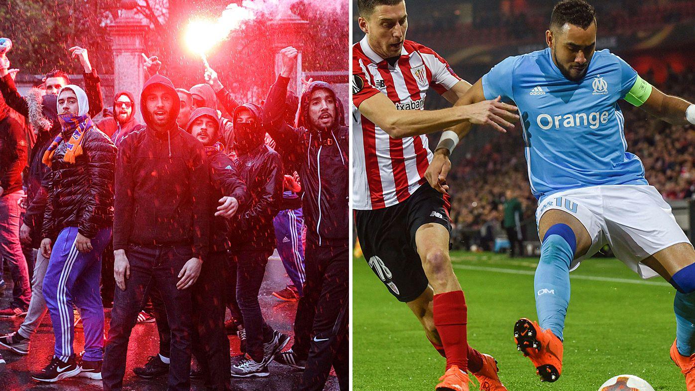 Football: Bilbao guard stabbed in Europa League fan attack