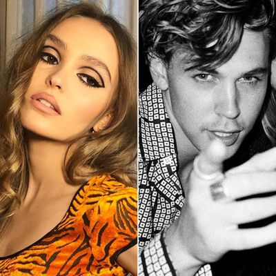 Lily-Rose Depp and Austin Butler