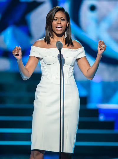 Michelle Obama in Zac Posen at Black Girls Rock 2015