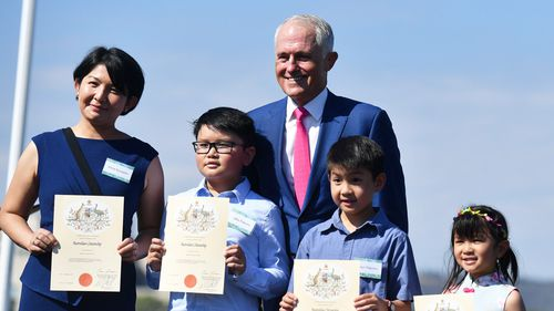 The number of people permanently migrating to Australia has dropped 10 percent, with official figures reaching the lowest level in more than a decade. Picture: AAP