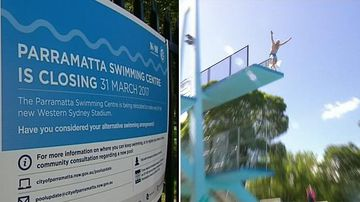 Swimmers farewell historic Parramatta Pool ahead of multi-million dollar revamp