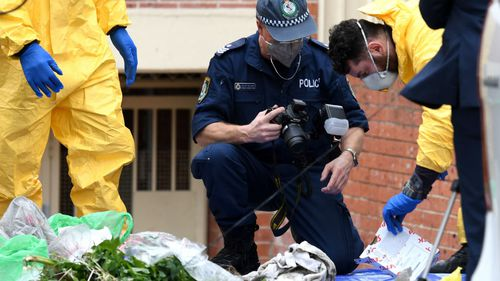 Over the weekend the New South Wales Joint Counter Terrorism Team (JCTT) conducted multiple searches at four addresses in Lakemba, Surry Hills, Wiley Park and Punchbowl. (AAP)