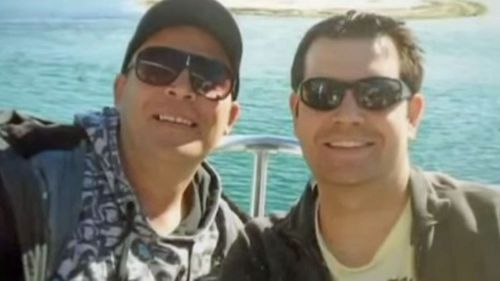 The couple met on Gay.com. (Supplied)