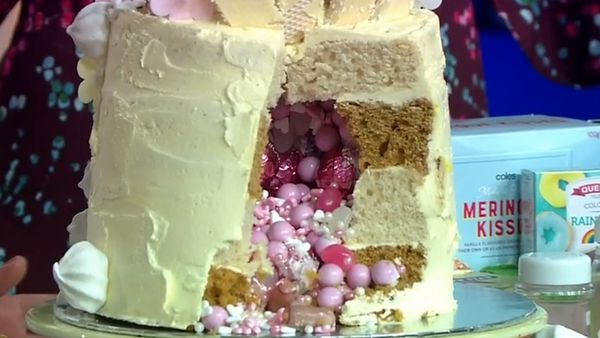 Supermarket cakes make the best centrepieces