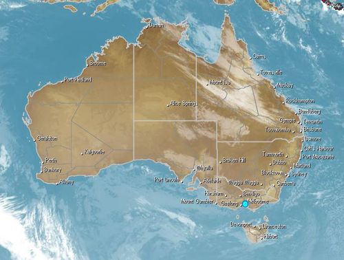 Much of the eastern states will continue to experience icy mornings. Image: Weatherzone