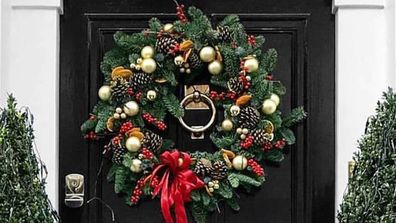 Inspiration and ideas to bring some festive cheer to your front door
