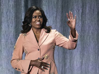 Michelle Obama shares the 'best text' she ever received