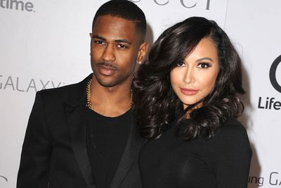 Long before Ariana Grande hooked up with Big Sean, he was engaged to <I>Glee</I> star Naya Rivera... who was a little blah throughout their entire relationship.<br/><br/>Staying safe on the red carpet, the rapper reportedly called time on their relationship in April, due to her controlling ways.