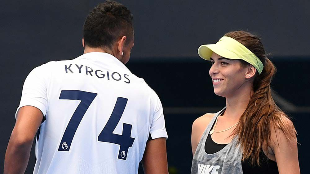 Coach-less Kyrgios reveals new source of inspiration