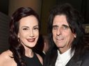 Alice Cooper and Sheryl Goddard at the Grammys