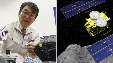 Japan has successfully detonated an explosive on an asteroid to collect samples from underneath its surface.