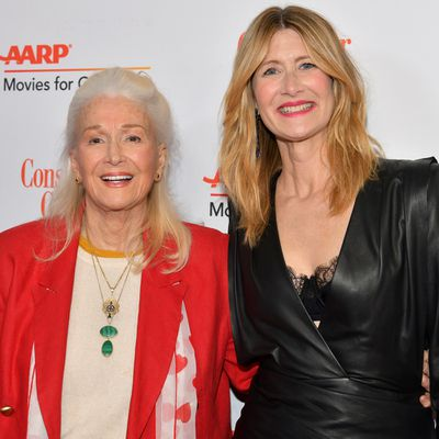 Laura Dern and her mother Diane Ladd