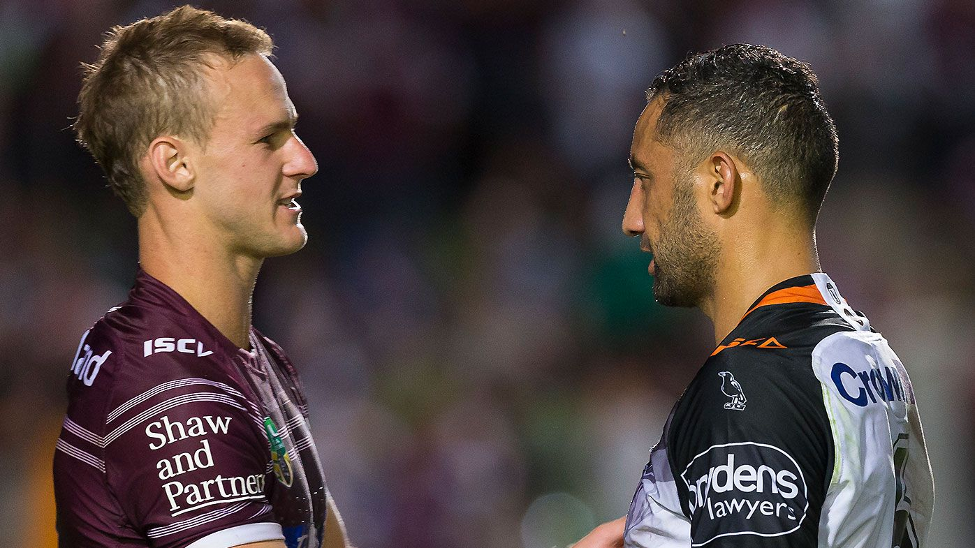 Daly Cherry-Evans and Benji Marshall