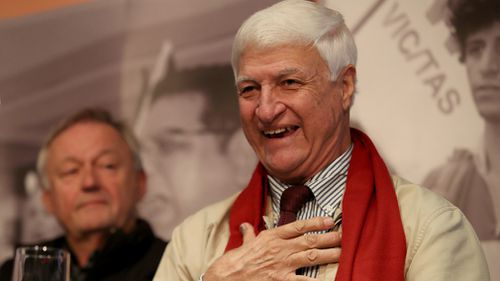 Bob Katter and Senator Anning have been friends for 40 years. (AAP)