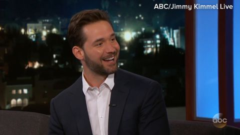 Alexis Ohanian on having a baby with Serena Williams
