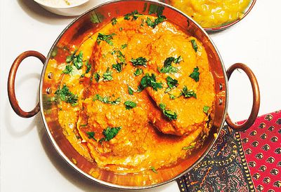 Friday: Lee Holmes' butter chicken