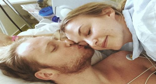 Girlfriend of man struck in Bastille Day attacks shares touching photo in hospital