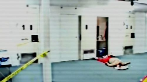 Carl Williams was murdered at Barwon Prison. Picture: 60 Minutes